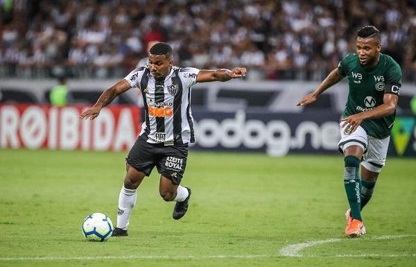 Galo vence Goiás no Mineirão com 2 gols da base.