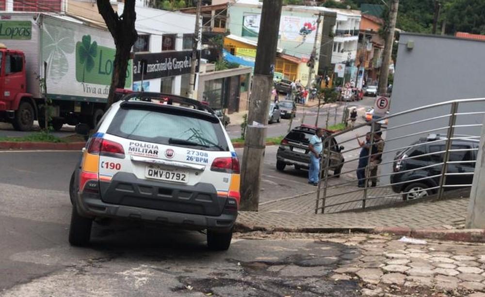 Gerente do banco Sicoob é sequestrada em Itabira — Foto: Redes Sociais