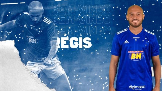 Régis é confirmado como reforço do Cruzeiro