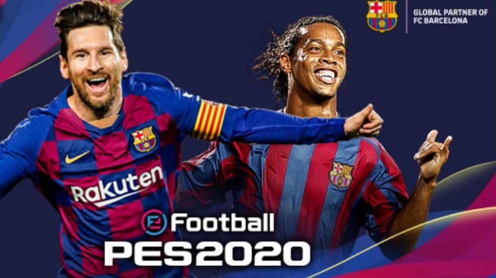 PES 2020 recebe atualização de rostos e Rivaldo como jogador lendário.